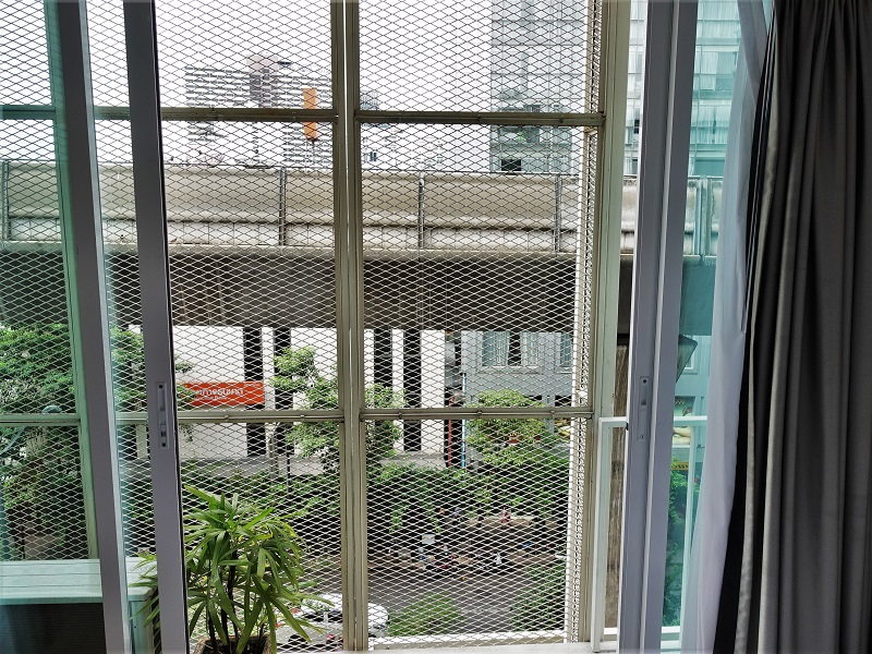 128バンコク(128 Bangkok)の客室から見た景色