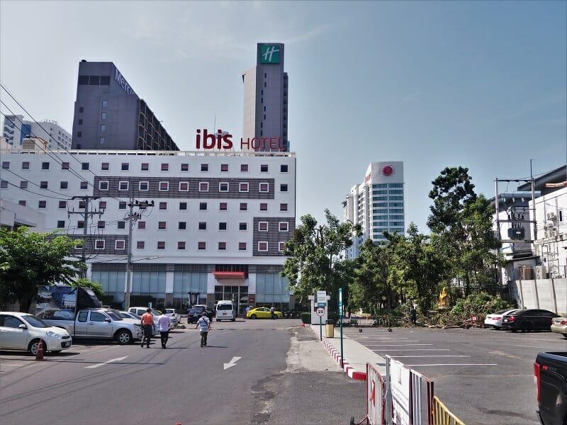 アマリオーシャンパタヤ(Amari Ocean Pattaya)などのホテル