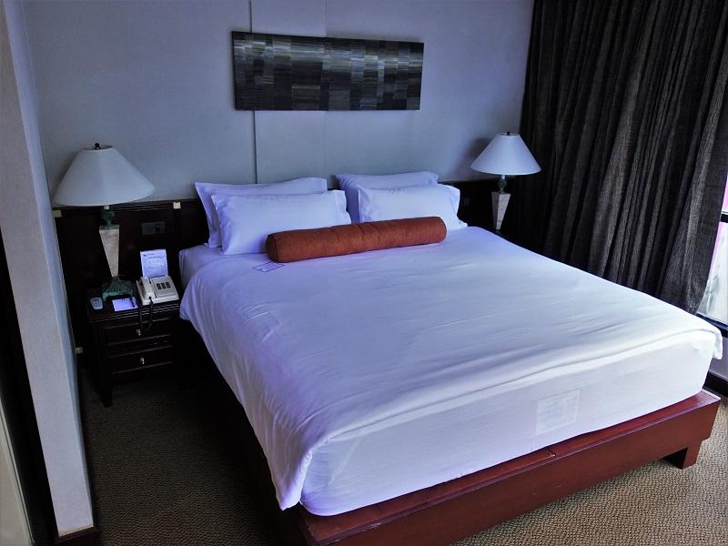 シティロッジバンコク(City Lodge Bangkok)のベッド