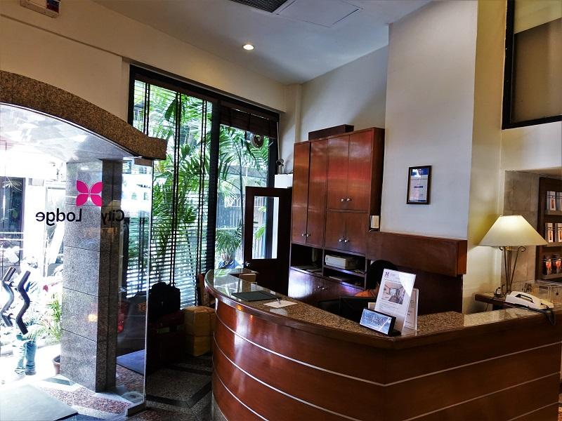 シティロッジバンコク(City Lodge Bangkok)の受付