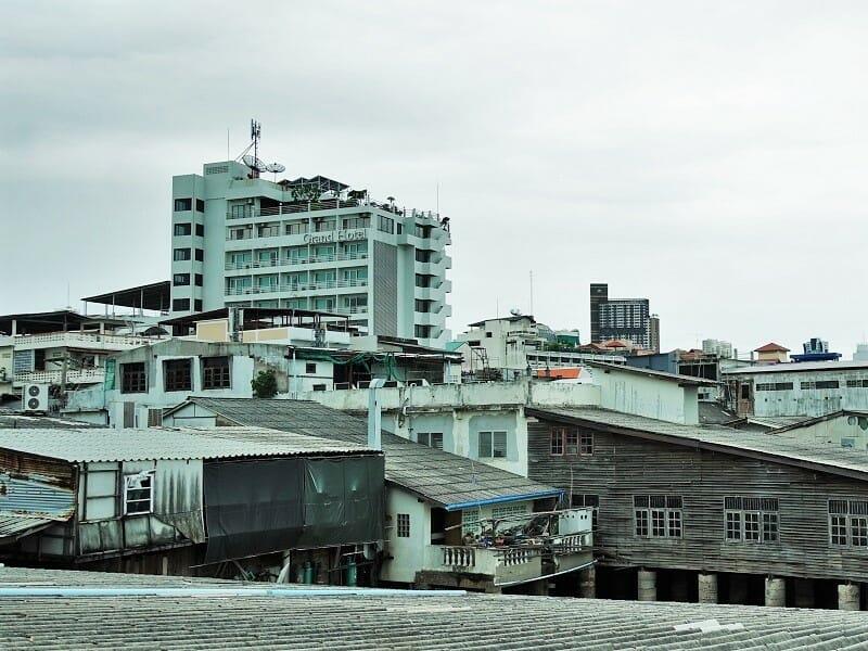 アットシーレジデンス(At Sea Residence)から見えるグランドホテルパタヤ
