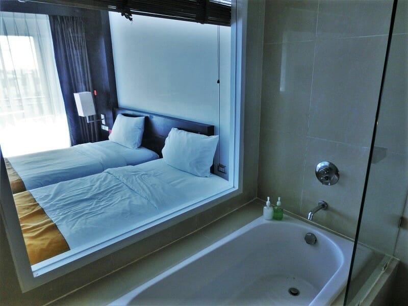 ホテルセレクションパタヤ(Hotel Selection Pattaya)のバスタブ
