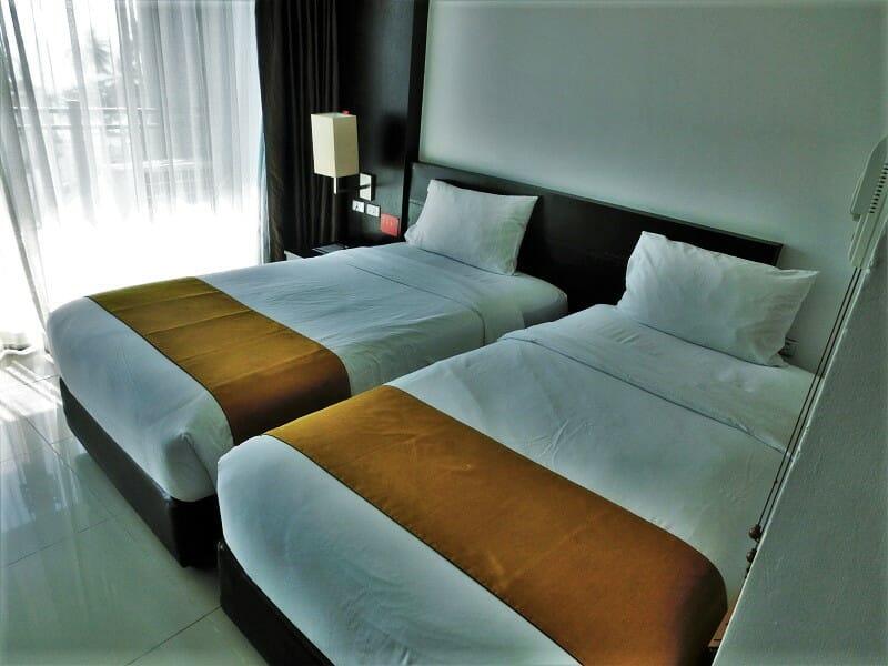 ホテルセレクションパタヤ(Hotel Selection Pattaya)ベッド