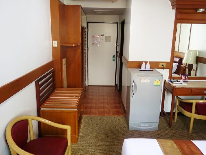 ナナ・ホテル・バンコク(NANA Hotel Bangkok)客室