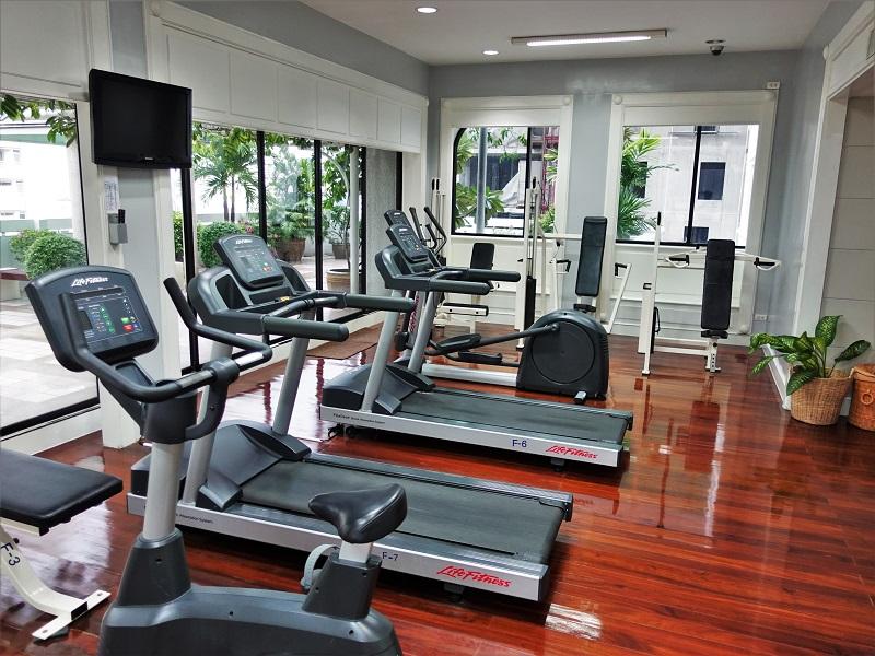 パチャラスイーツスクンビット(Phachara Suites Sukhumvit)のトレーニングルーム