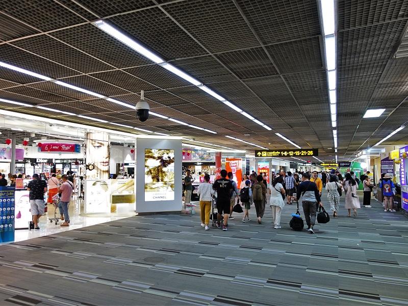 ドンムアン空港国際線ターミナルの搭乗ゲート