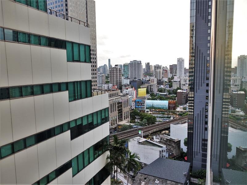 ジャスミンシティ(Jasmine City Hotel)から見た景色
