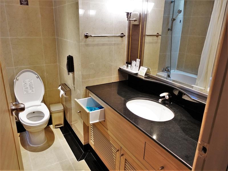ジャスミンシティ(Jasmine City Hotel)洗面所