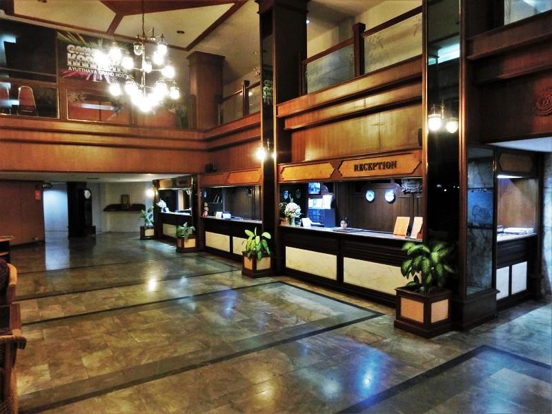 アユタヤ グランド ホテル(Ayutthaya Grand Hotel)受付ロビー