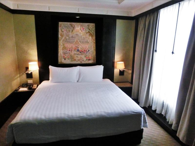 バンヤン ツリー バンコク(Banyan Tree Bangkok)ベッド