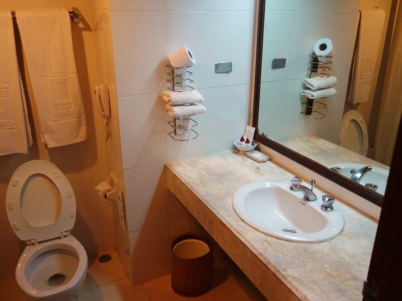 チェンマイ プラザ ホテル(Chiang Mai Plaza Hotel)洗面所