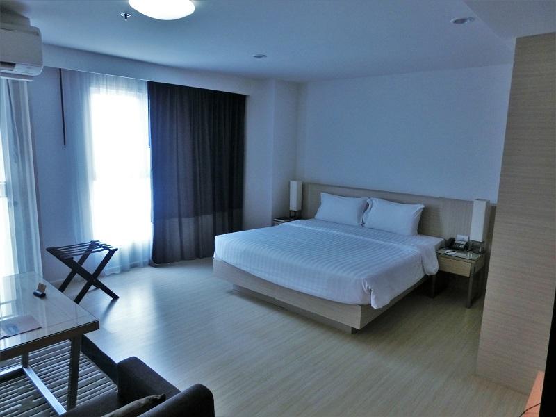 クラシックカメオ ホテル & サービスド アパートメンツ アユタヤ(Classic Kameo Hotel & Serviced Apartments, Ayutthaya)ベッド