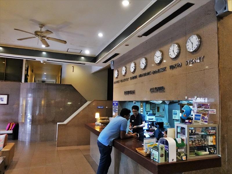グランドホテル パタヤ(Grand Hotel Pattaya)受付