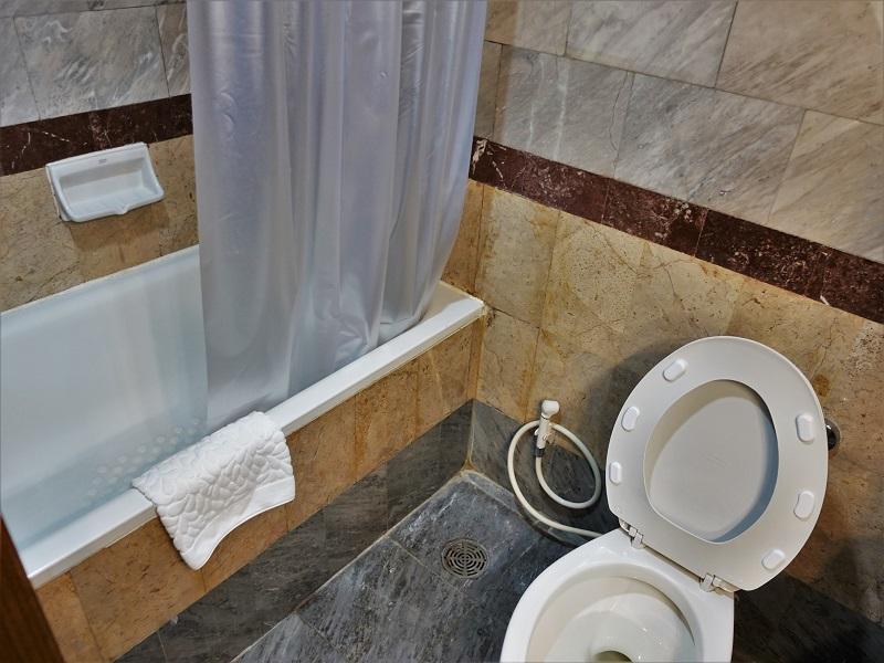 クルンシリ リバー ホテル(Krungsri River Hotel)トイレとバスルーム