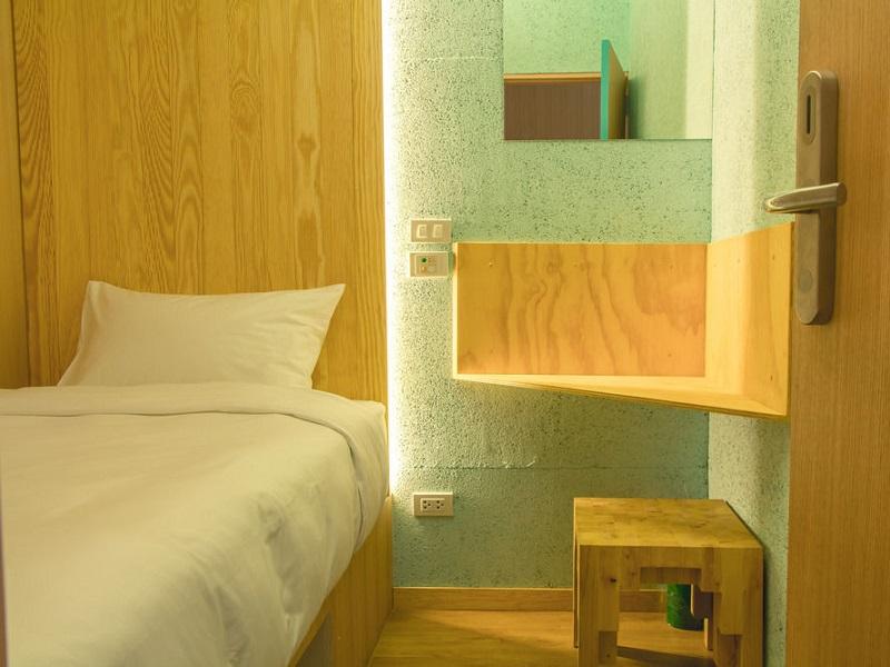 スワンナプーム国際空港ホテル・ボクステル アット スワンナプーム エアポート(boxtel @ suvarnabhumi airport)客室