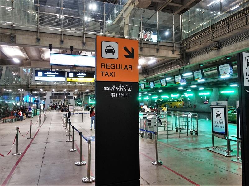 スワンナプーム国際空港のレギュラーレーン
