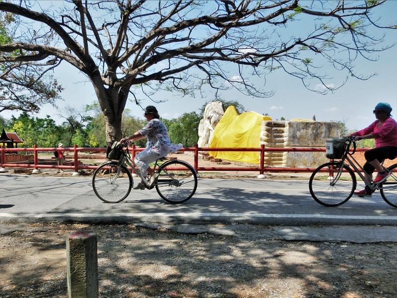 アユタヤの自転車観光