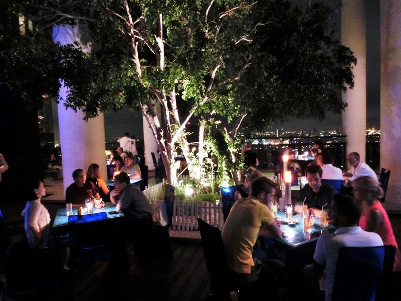 ンヤン ツリー バンコク(Banyan Tree Bangkok)ラティチュード・ラウンジ&バー