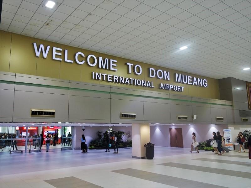 ドンムアン空港の国内線到着ロビー