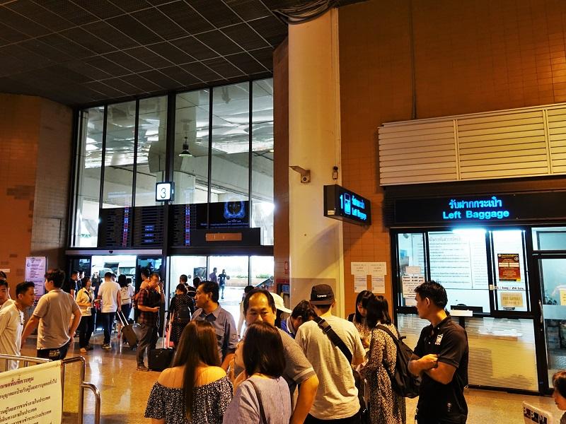ドンムアン空港国際線ターミナル3番出口