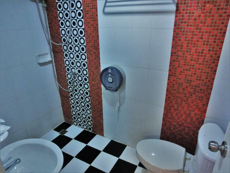 ドンムアン エアポート モダン バンコク ホテル(Donmuang Airport Modern Bangkok Hotel)シャワールーム、トイレ、洗面所