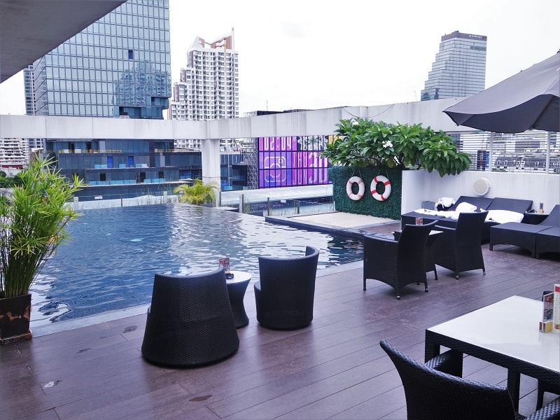 アイ レジデンス ホテル シーロム(I Residence Hotel Silom)プール