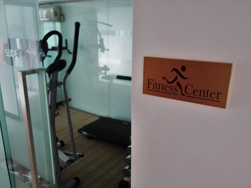 アイ レジデンス ホテル シーロム(I Residence Hotel Silom)トレーニングルーム