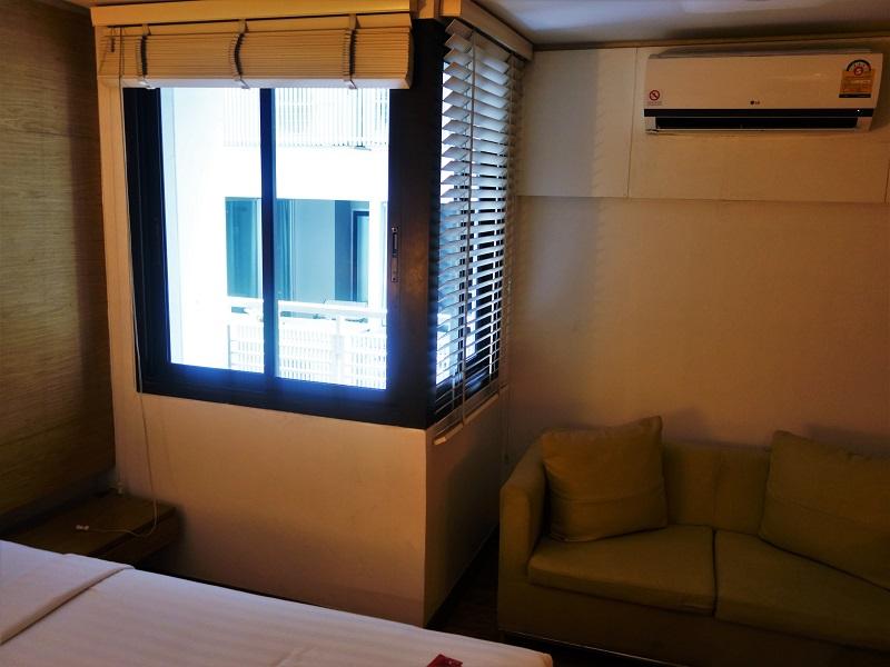 アイ レジデンス ホテル シーロム(I Residence Hotel Silom)バルコニー