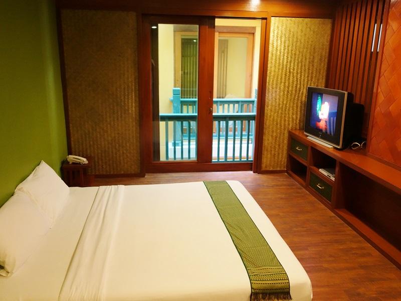 ダン ダゥーム ホテル(Dang Derm Hotel)ベッドルーム