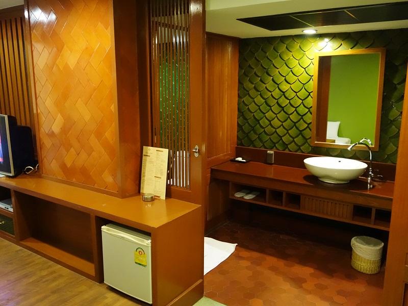 ダン ダゥーム ホテル(Dang Derm Hotel)洗面所
