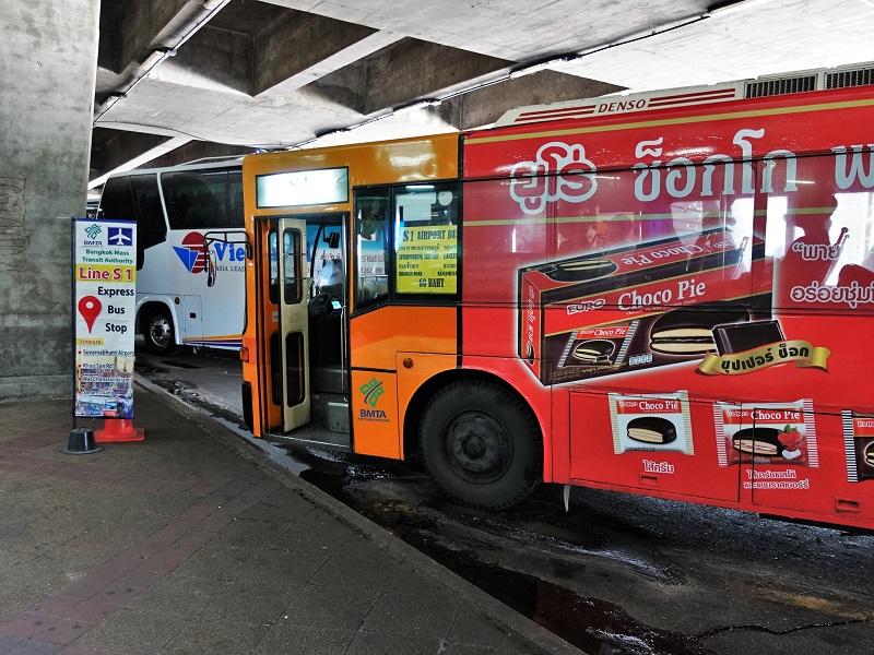 カオサン行きバス「S1バス」