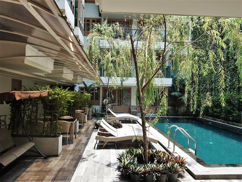 ムーンドラゴン ホテル チェンマイ(Moondragon Hotel Chiang Mai)プール