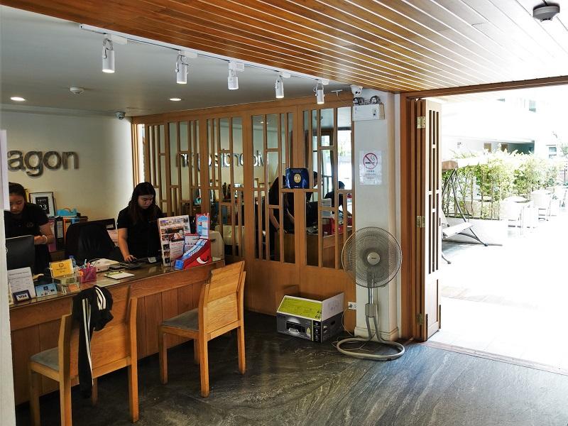 ムーンドラゴン ホテル チェンマイ(Moondragon Hotel Chiang Mai)受付