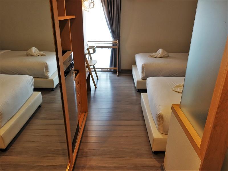 ムーンドラゴン ホテル チェンマイ(Moondragon Hotel Chiang Mai)客室