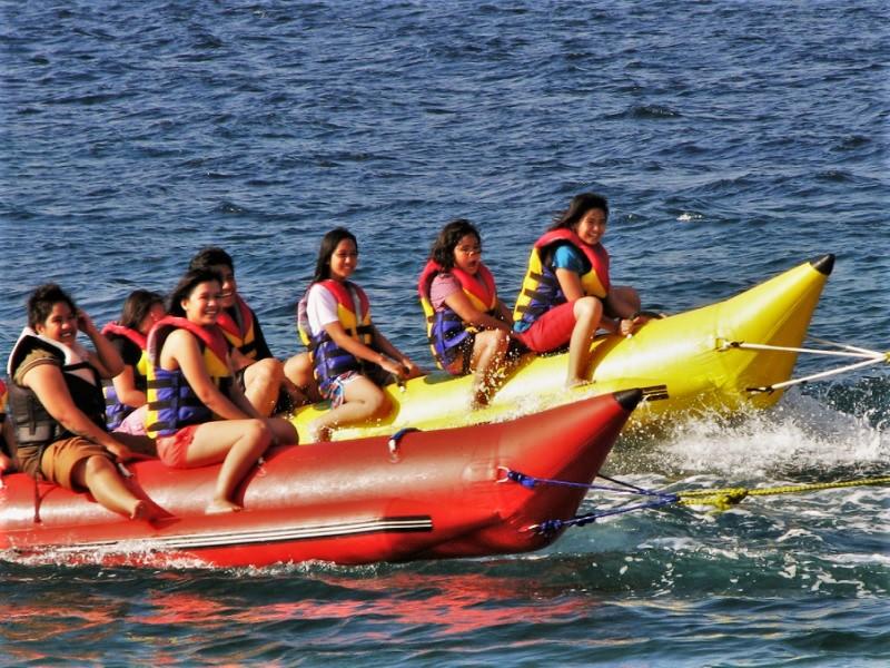 パタヤのバナナボート