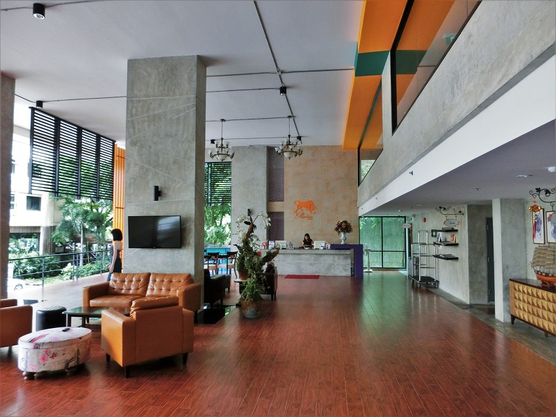 プレステージ チェンマイ(Prestige Chiang Mai)1階ロビー