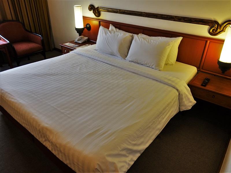 インペリアル メー ピン ホテル(The Imperial Mae Ping Hotel)ベッド