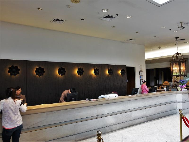 インペリアル メー ピン ホテル(The Imperial Mae Ping Hotel)受付