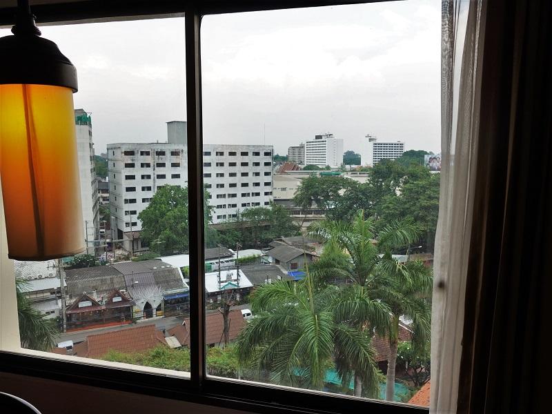 インペリアル メー ピン ホテル(The Imperial Mae Ping Hotel)の部屋からの景色