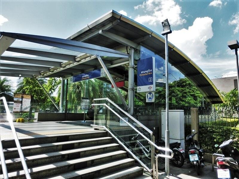 地下鉄チャトゥチャック公園駅2番出口(Exit 2)