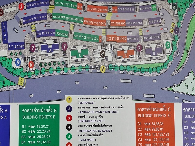 ミニバスステーションのマップ