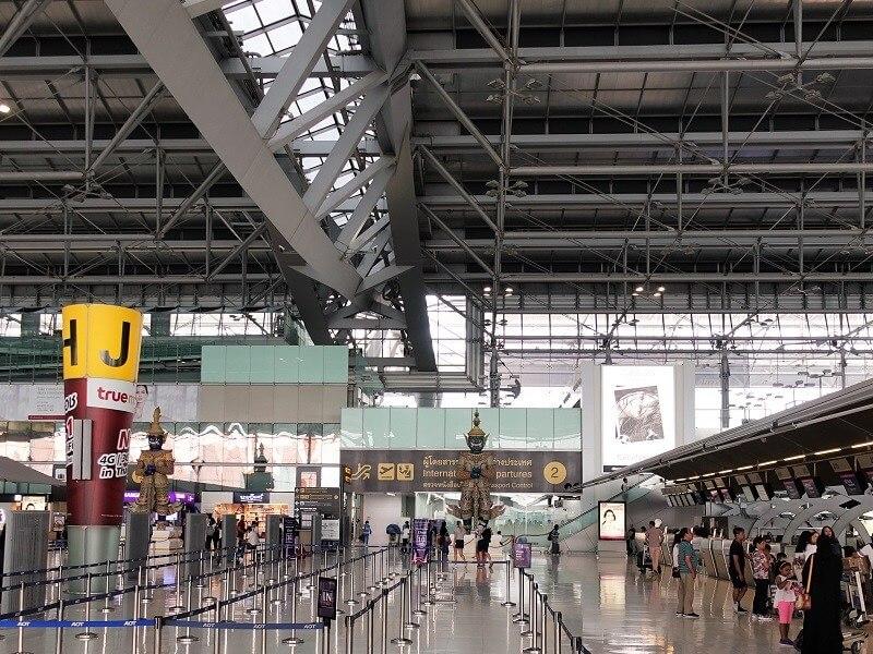 スワンナプーム国際空港のWiFi