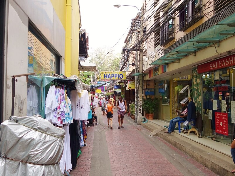 チャナソンクラーム通り(Soi Chana Songkhram)