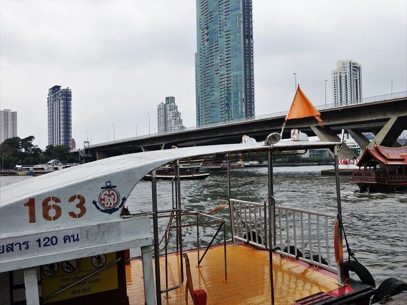 チャオプラヤーエクスプレスボート
