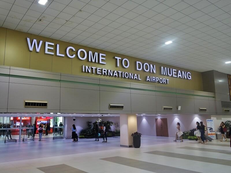 ドンムアン空港国内線ターミナル1階到着ロビー