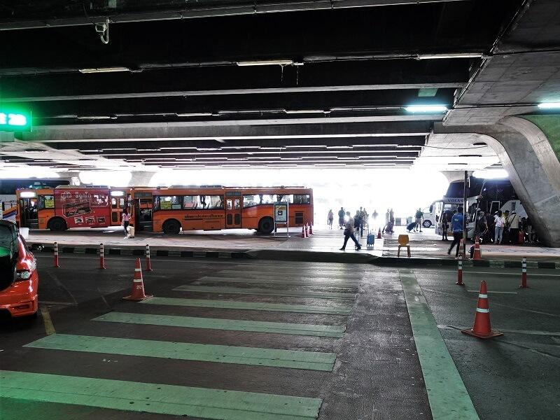 スワンナプーム国際空港のS1バス