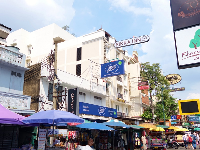 ザ マルベリー バンコク カオサン ロード(The Mulberry Bangkok Khaosan Road)
