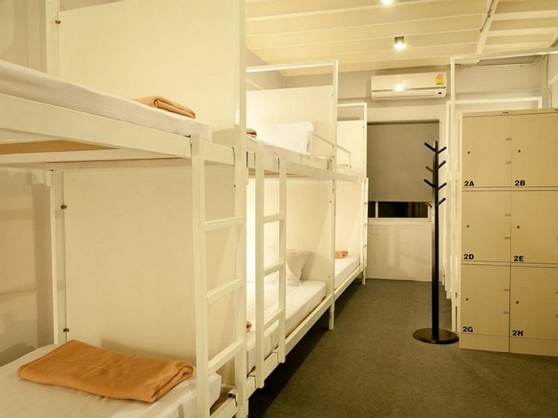カオサンのゲストハウス「3ハウー・ホステル(3HOWw Hostel)」