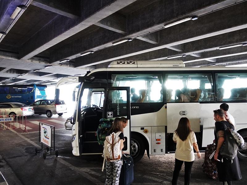スワンナプーム空港のリモバス