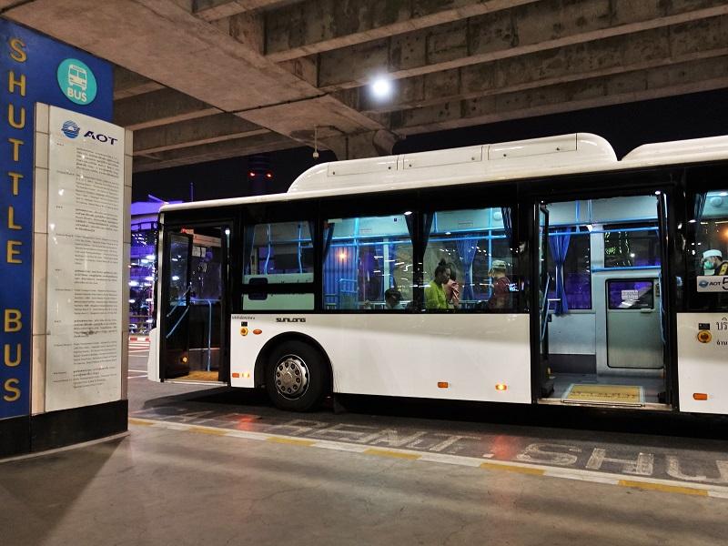 トランスポーテーションセンター行きシャトルバス